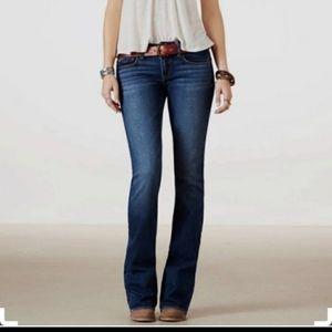 AEO Artist Dark Wash Bootcut Jeans size 8